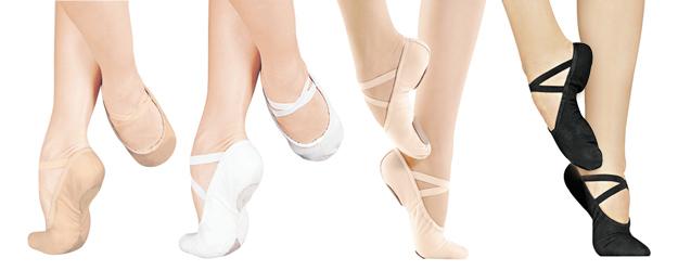 туфли балетни обувки