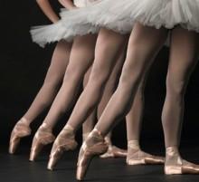 балетни обувки палци