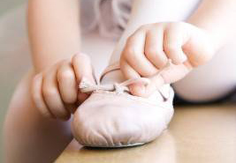 обувки за балет туфли