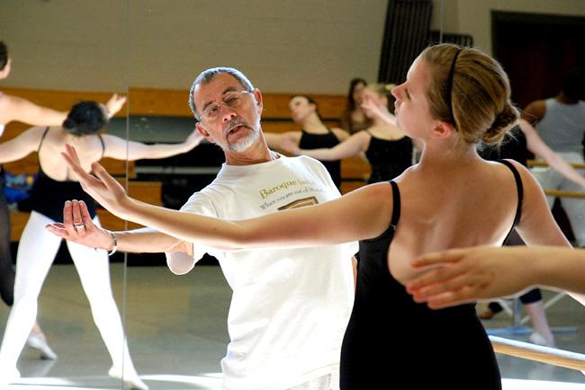 Преподаване на модерни танци